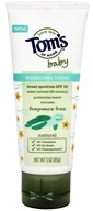 Tom's of Maine - Fragrance Free Baby Sunscreen Lotion Broad Spectrum SPF 30 - 3 oz.