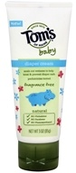 Tom's of Maine - Fragrance Free Diaper Cream - 3 oz.