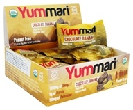 Yummari - Organic Endurance Snack Bites Chocolate Banana - 12 Bars