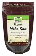 NOW Foods - Organic Wild Rice - 8 oz.