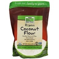 NOW Foods - Organic Coconut Flour - 16 oz.