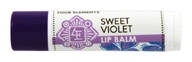 Four Elements Herbals - Lip Balm Sweet Violet - 0.15 oz.