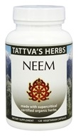 Tattva's Herbs - Organic Neem Full Spectrum CO2 Extract - 120 Vegetarian Capsules