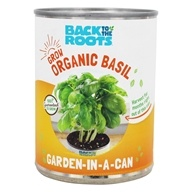 Back to the Roots - Garden-In-A-Can Organic Basil