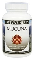 Tattva's Herbs - Organic Mucuna Full Spectrum CO2 Extract - 120 Vegetarian Capsules