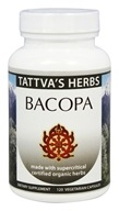 Tattva's Herbs - Organic Bacopa Full Spectrum CO2 Extract - 120 Vegetarian Capsules