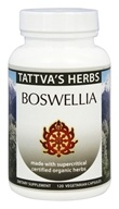 Tattva's Herbs - Organic Boswellia Full Spectrum CO2 Extract - 120 Vegetarian Capsules