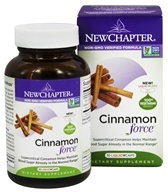 New Chapter - Cinnamon Force - 30 Vegetarian Capsules