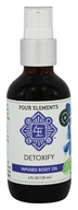 Four Elements Herbals - Infused Body Oil Detoxify - 4 oz.