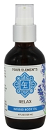 Four Elements Herbals - Infused Body Oil Relax - 4 oz.