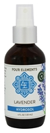 Four Elements Herbals - Hydrosol Lavender - 4 oz.
