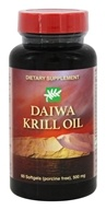 Daiwa Health Development - Daiwa Krill Oil 500 mg. - 60 Softgels