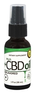 Plus CBD Oil - Total Plant Complex 1mg Spray Unflavored - 1 oz.