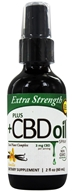 Plus CBD Oil - Total Plant Complex 3mg Extra Strength Spray Vanilla - 2 oz.
