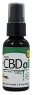 Plus CBD Oil - Total Plant Complex 1mg Spray Vanilla - 1 oz.