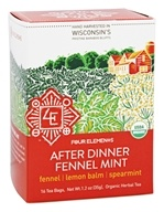 Four Elements Herbals - Organic Herbal Tea After Dinner Fennel Mint - 16 Tea Bags