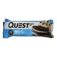 Quest Nutrition - Quest Bar Protein Bar Cookies & Cream - 2.12 oz.
