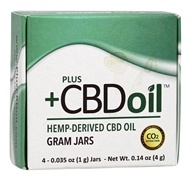 Plus CBD Oil - Total Plant Complex Concentrate 4g - 4 Jar(s)