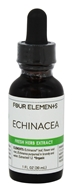 Four Elements Herbals - Fresh Herb Extract Tincture Echinacea - 1 oz.