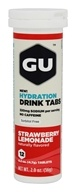 GU Energy - GU Hydration Drink Tabs Strawberry Lemonade - 1.9 oz.