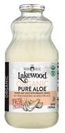 Lakewood - Organic Pure Aloe Inner Fillet Juice with Lemon - 32 oz.