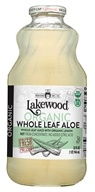 Lakewood Organic - Organic Pure Aloe Whole Leaf Juice - 32 oz.