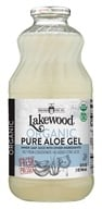 Lakewood - Organic Pure Aloe Gel Juice with Lemon - 32 oz.