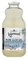 Lakewood - Organic Pure Aloe Gel Juice - 32 oz.