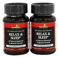 Futurebiotics - Relax & Sleep Formula BOGO - 120 Vegetarian Tablets