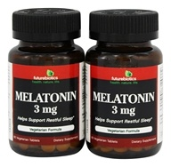 Futurebiotics - Melatonin BOGO 3 mg. - 120 Vegetarian Tablets