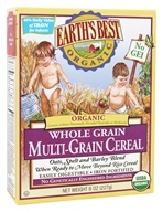 Earth's Best - Organic Whole Grain Multi-Grain Cereal - 8 oz.