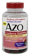 Azo - Cranberry Gummies Mixed Berry - 40 Gummies