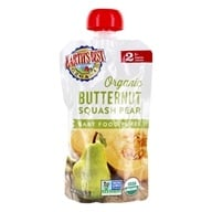 Earth's Best - Baby Food Puree Butternut Squash Pear - 4 oz.