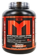 MTS Nutrition - Machine Whey Banana Cream Pie - 5 lbs.