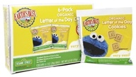 Earth's Best - Organic Letter of the Day Cookies Very Vanilla - 6 Pack