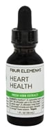 Four Elements Herbals - Fresh Herb Extract Tincture Heart Health - 1 oz.