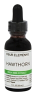 Four Elements Herbals - Fresh Herb Extract Tincture Hawthorn - 1 oz.