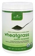 Activz - 100% Organic Wheatgrass Juice Powder - 7 oz.