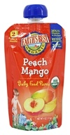 Earth's Best - Baby Food Puree Peach Mango - 4 oz.