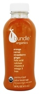 Bundle Organics - Organic Prenatal Juice Orange Carrot Strawberry Ginger - 16 oz.