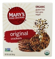 Mary's Gone Crackers - Organic Crackers Original - 6.5 oz.