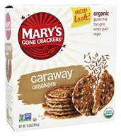 Mary's Gone Crackers - Organic Crackers Caraway - 6.5 oz.