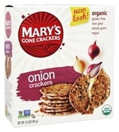 Mary's Gone Crackers - Organic Crackers Onion - 6.5 oz.