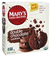 Mary's Gone Crackers - Organic Cookies Double Chocolate - 5.5 oz.