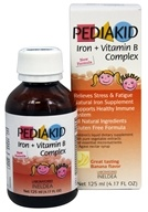 Pediakid - Iron + Vitamin B Complex Banana Flavor - 125 ml.