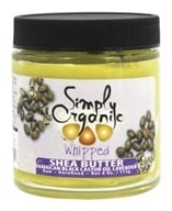 Simply Organic Oils - Shea Butter with Jamaican Black Castor Oil Whipped Lavender - 4 oz.