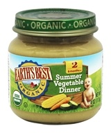 Earth's Best - Organic Baby Food Stage 2 Summer Vegetable Dinner - 4 oz.