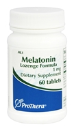 ProThera - Melatonin Lozenge Formula 1 mg. - 60 Tablets