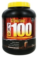Mutant - PRO 100 Gourmet Whey Protein Shake Rich Chocolate Milk - 4 lbs.