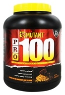 Mutant - PRO 100 Gourmet Whey Protein Shake Peanut Butter Chocolate Chip - 4 lbs.